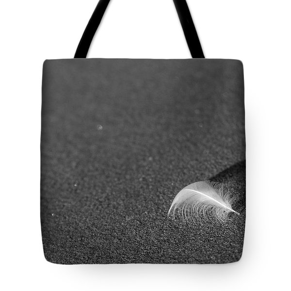 Tote Bag featuring the photograph Smooth As A Feather by Lora Lee Chapman