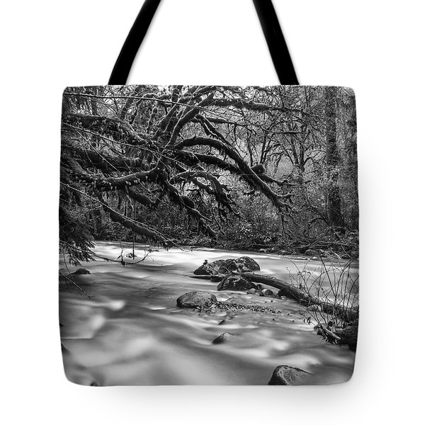 Smooth Flow Tote Bag