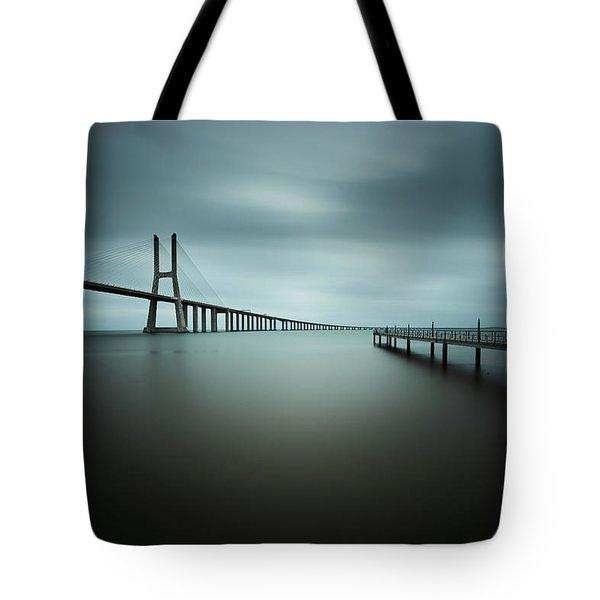 Smooth Gray Tote Bag