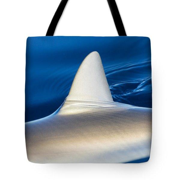Smooth Shark Fin Tote Bag