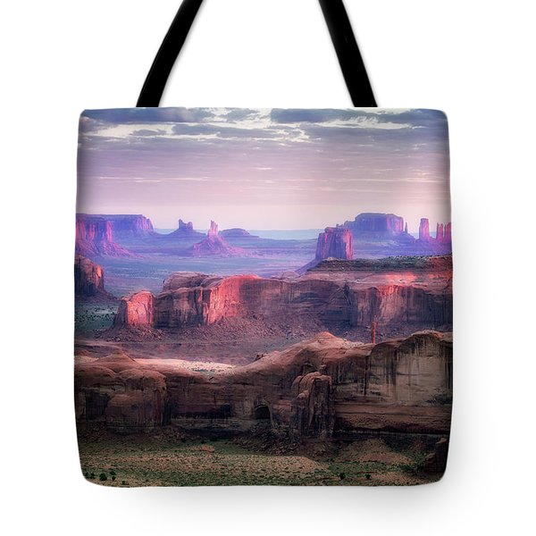 Smooth Sunset Tote Bag by Nicki Frates