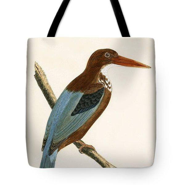 Smyrna Kingfisher Tote Bag