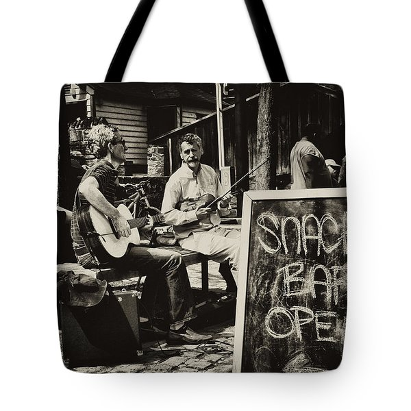 Snack Bar Open Tote Bag by Bill Cannon