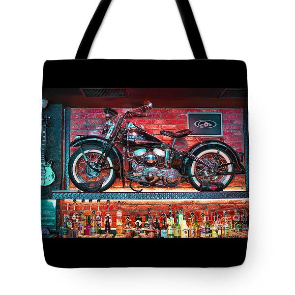 Snackbar Tote Bag by Graham Hawcroft pixsellpix