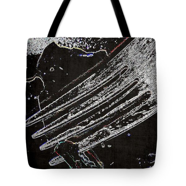 Snacking At Midnight Tote Bag