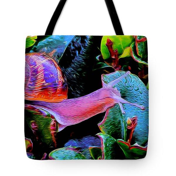 Snail 12 Tote Bag