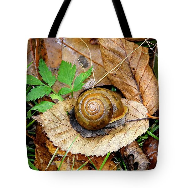 Snail Home Tote Bag