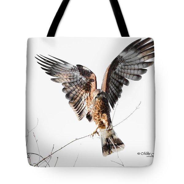 Snail Kite Exposed Tote Bag