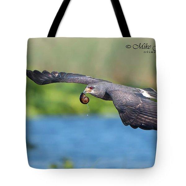 Snail Kite Returning Tote Bag
