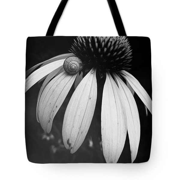 Snail Tote Bag by Sharon Jones