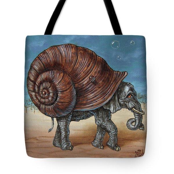 Snailephant Tote Bag