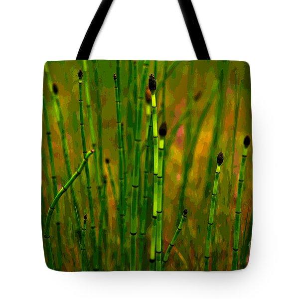 Snake Grass Tote Bag