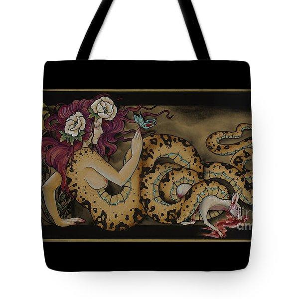 Snake Lady Tote Bag