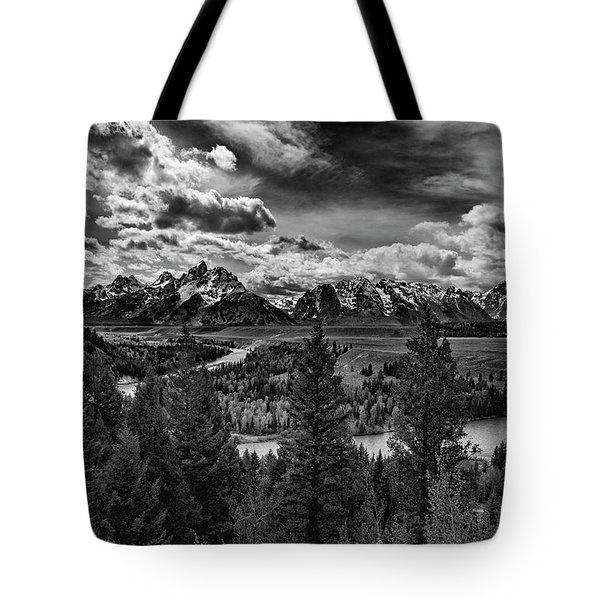 Snake River And Tetons Tote Bag