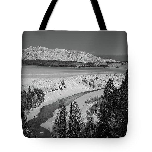Snake River View Tote Bag