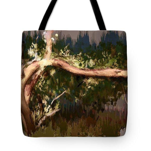 Snake Tree Tote Bag