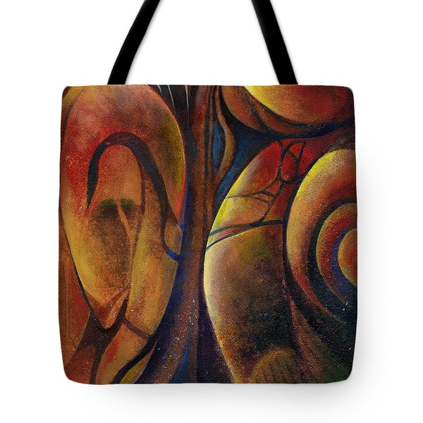 Snakes And Snails Tote Bag by Andrew King