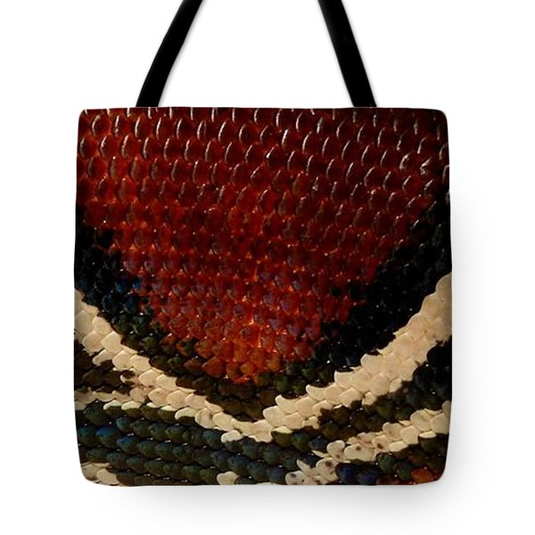 Snake's Scales Tote Bag by KD Johnson