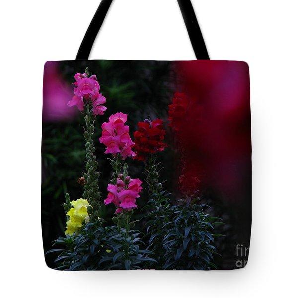 Snapdragon Tote Bag by Greg Patzer