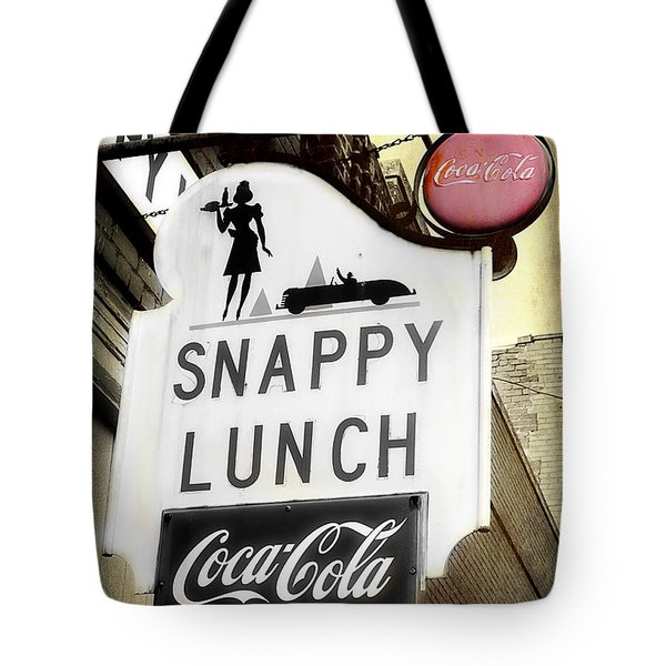 Snappy Lunch Tote Bag