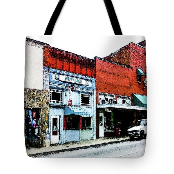 Tote Bag featuring the photograph Snappy Lunch by Randy Sylvia