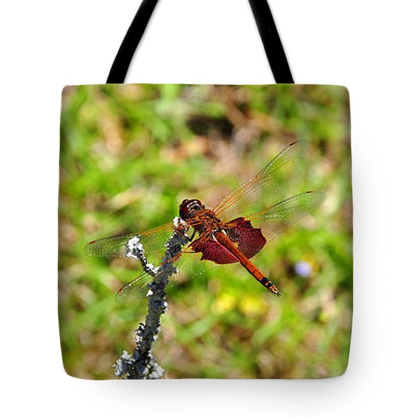 Tote Bag featuring the photograph Shimmering Saddlebags by Al Powell Photography USA