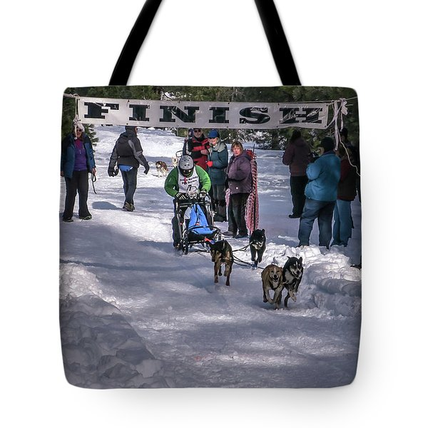 Tote Bag featuring the photograph Sndd-1462 Tim's Takeoff by Jan Davies