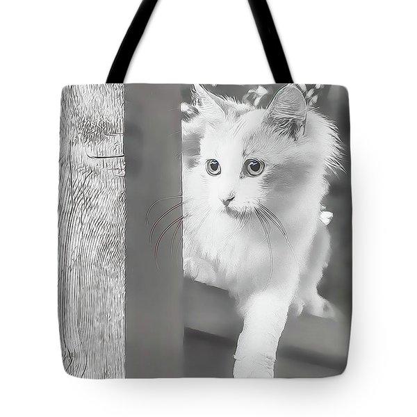 Sneak Peek Tote Bag