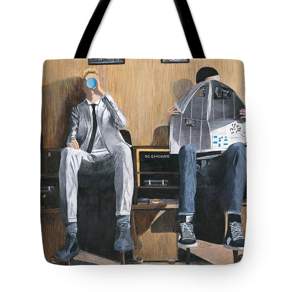 Sneakers Need Polishing Too Tote Bag