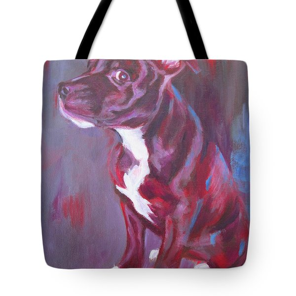 Sneaky Look - Staffy Tote Bag