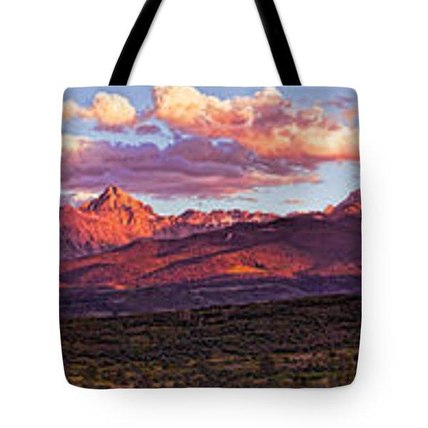 Sneffel's Range Sunset Tote Bag