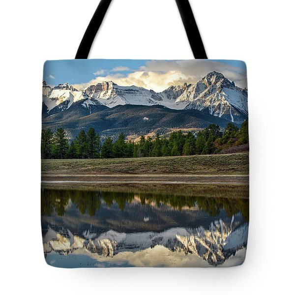 Sneffels Reflected Tote Bag
