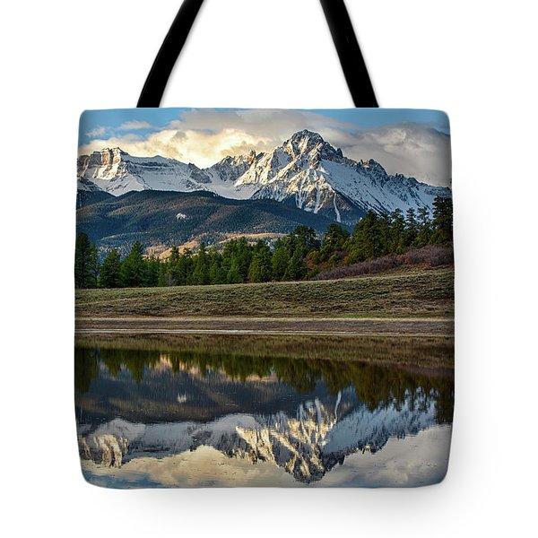 Sneffels Reflected Tote Bag