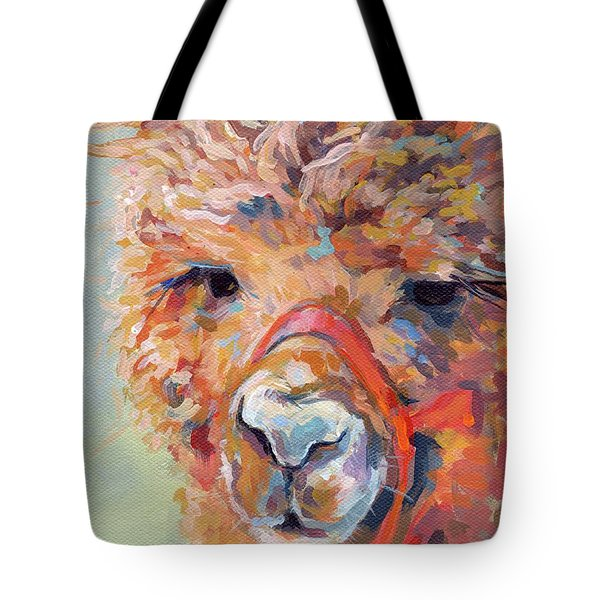 Snickers Tote Bag by Kimberly Santini