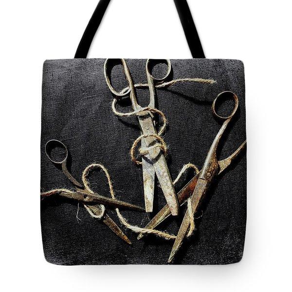 Snip Snip Tote Bag