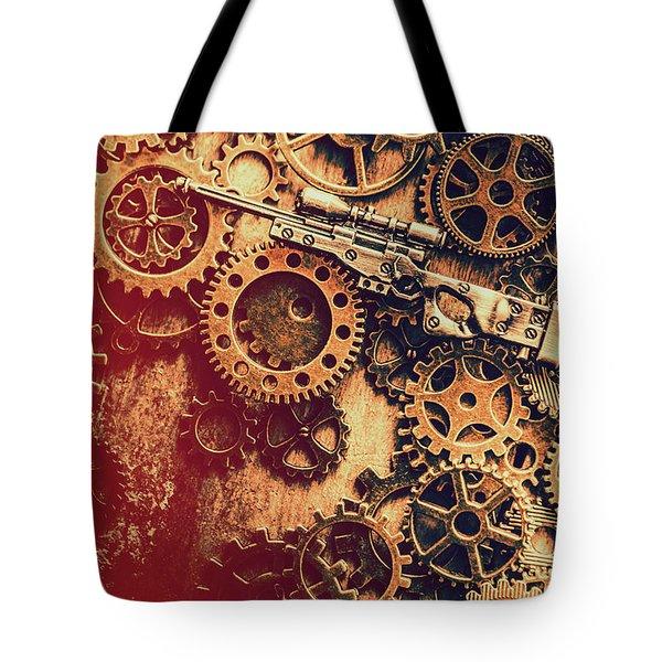 Sniper Rifle Fine Art Tote Bag