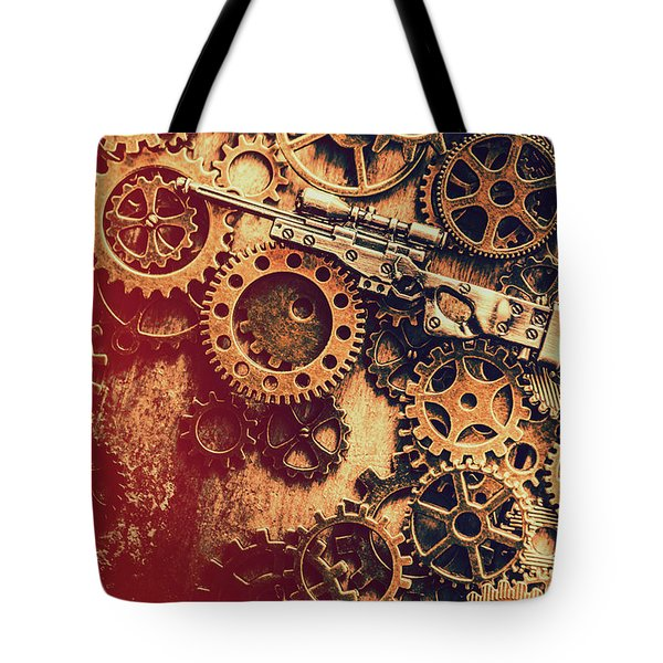 Sniper Rifle Fine Art Tote Bag