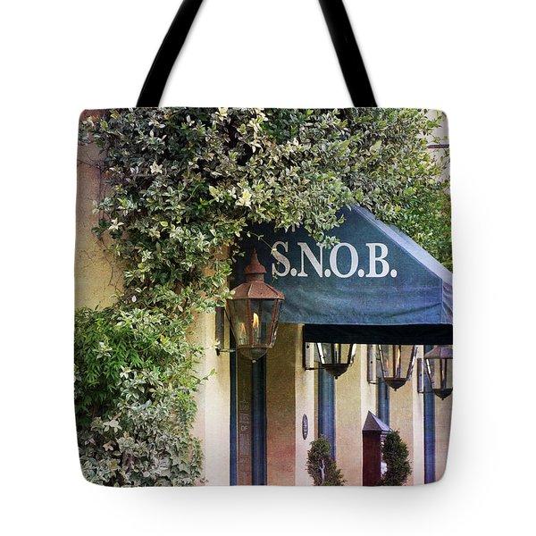 Snob Tote Bag