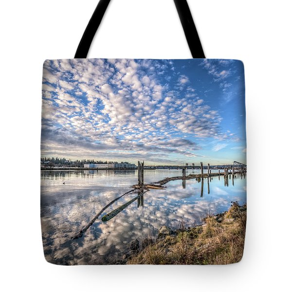 Snohomish River Bliss Tote Bag