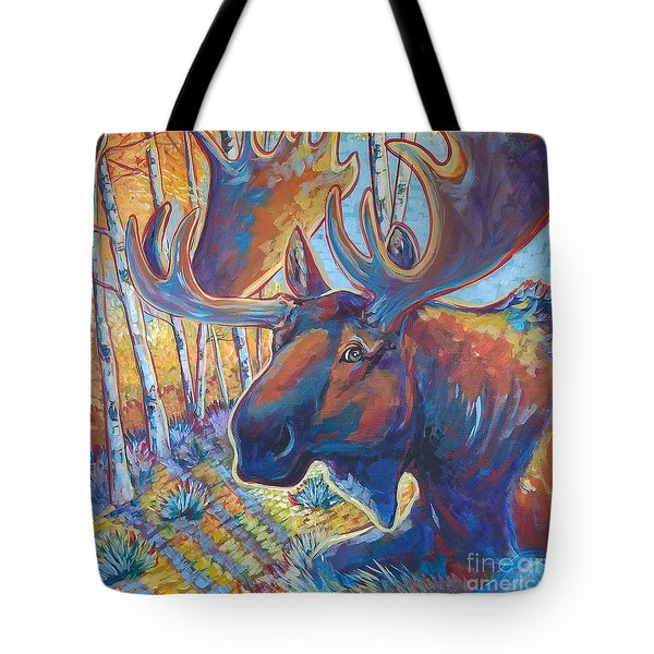 Snooze In The Aspens Tote Bag