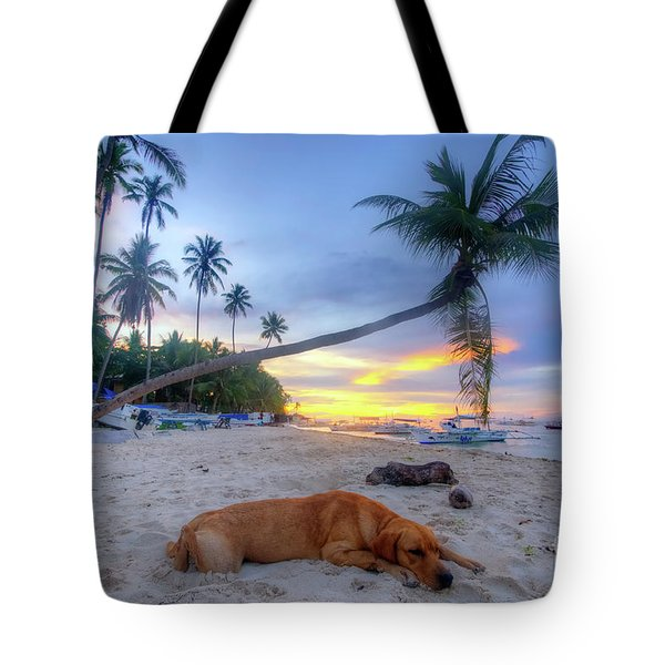 Tote Bag featuring the photograph Snooze by Yhun Suarez