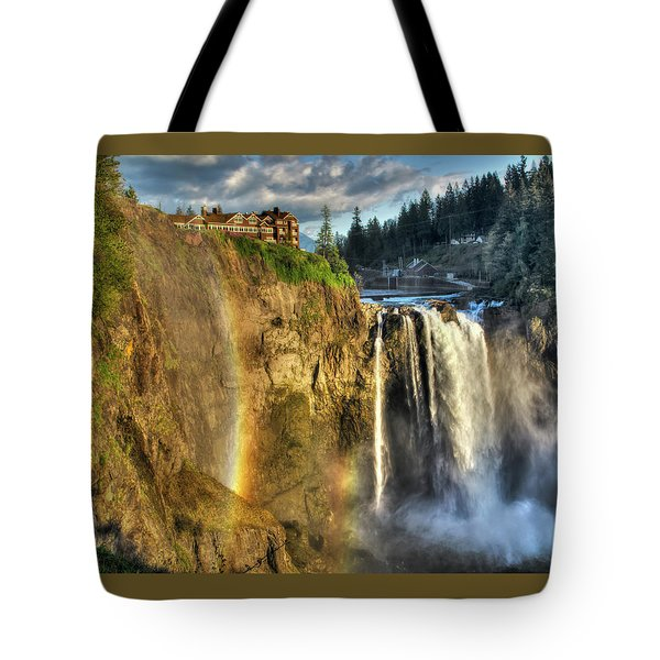 Snoqualmie Falls, Washington Tote Bag