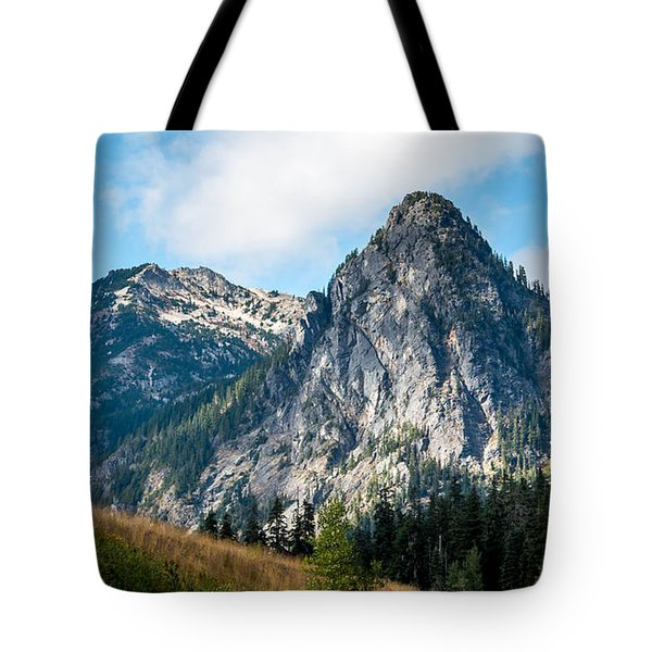 Snoqualmie Mountain Tote Bag