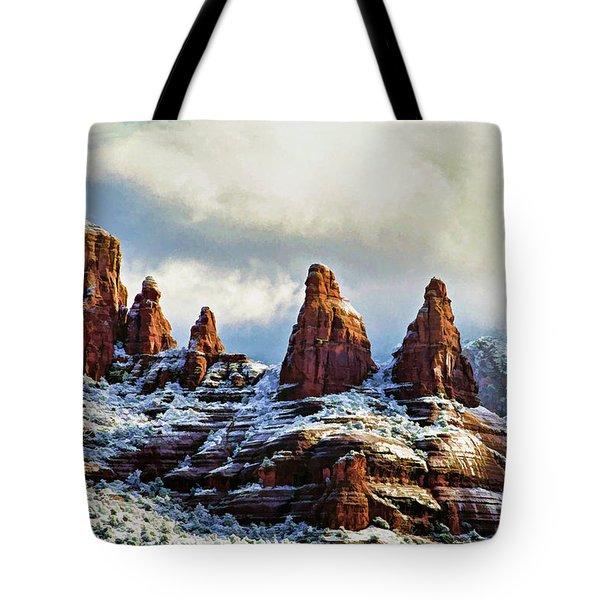 Snow 04-002 Tote Bag