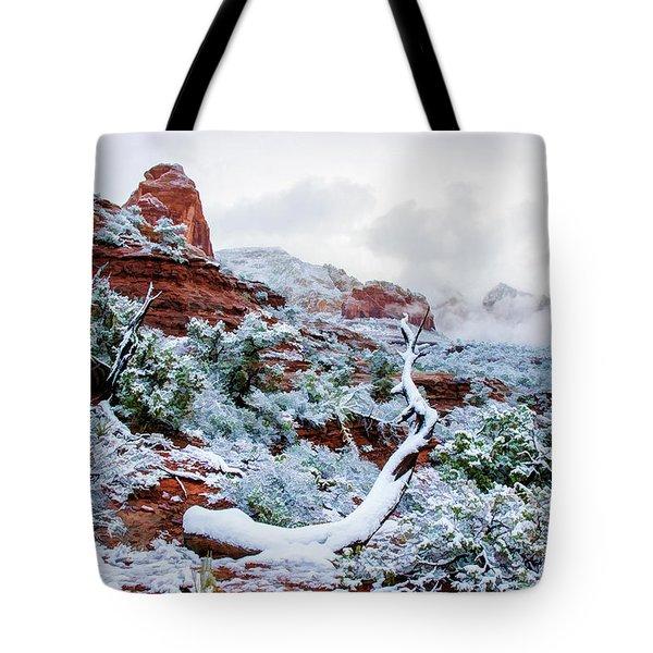 Snow 05-024 Tote Bag