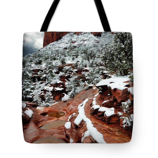 Snow 06-068 Tote Bag