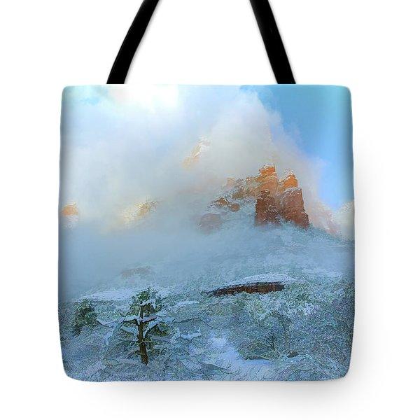 Snow 07-104 Tote Bag