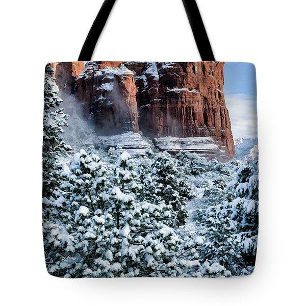 Snow 07-111 Tote Bag