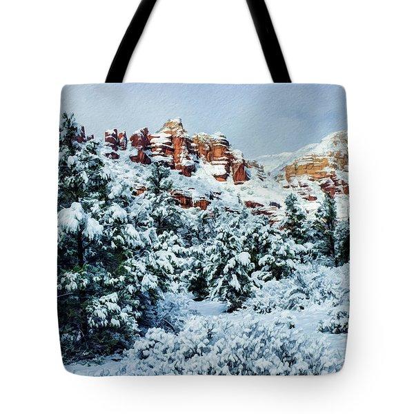 Snow 09-007 Tote Bag by Scott McAllister