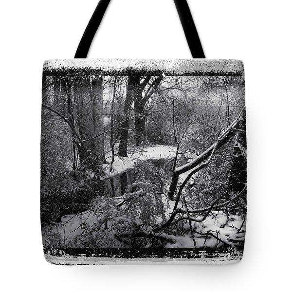 Snow 2018 Tote Bag